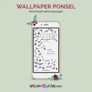Wallpaper Ponsel: Damai Natal