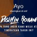 Sharing: Disiplin Rohani