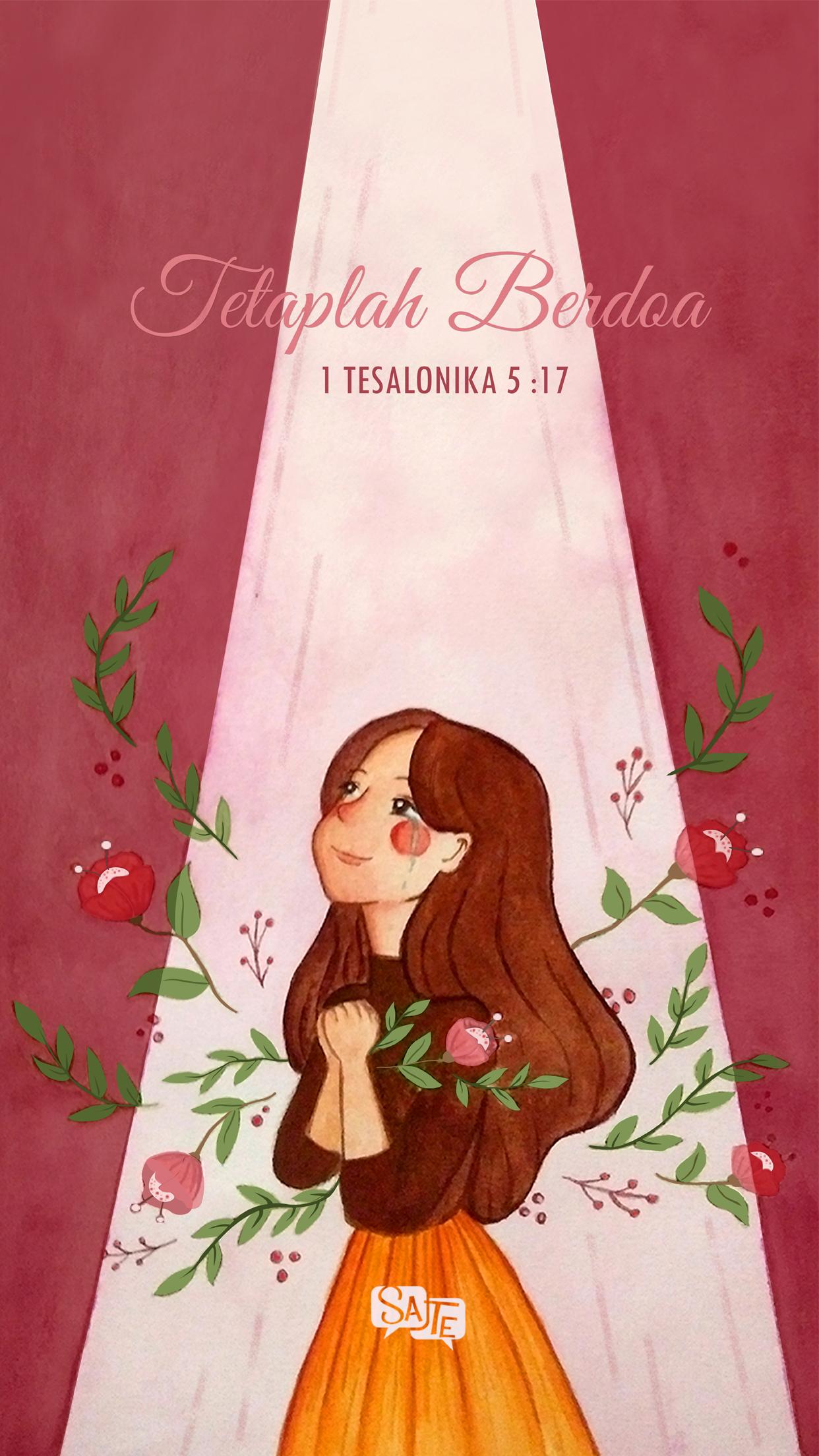 Lock Screen: 1 Tesalonika 5:17