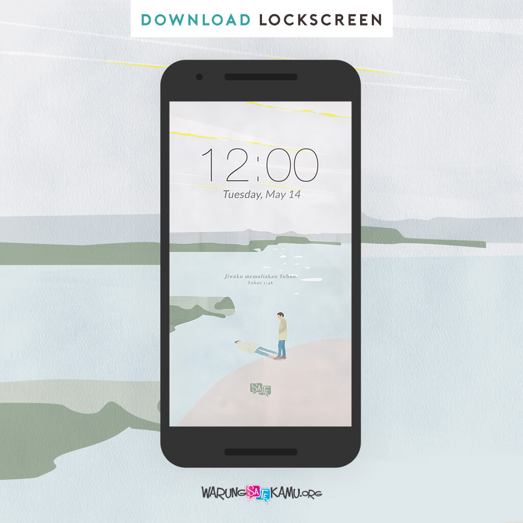 Lock Screen: Lukas 1:46