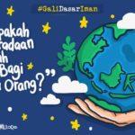 #GaliDasarIman: Apakah Keberadaan Allah Jelas Bagi Semua Orang?